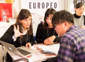 イタリア留学フェア 学校ブースでの相談